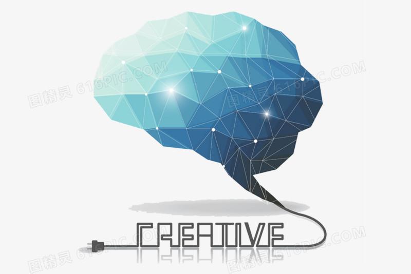 创意大脑图片免费下载_高清png素材_图精灵