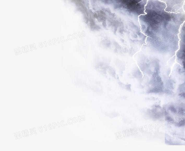 乌云雷电图片免费下载_高清png素材_图精灵