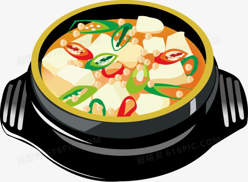 卡通美食餐饮火锅图片