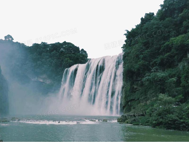 贵州黄果树瀑布风景图图片免费下载_高清png素材_图