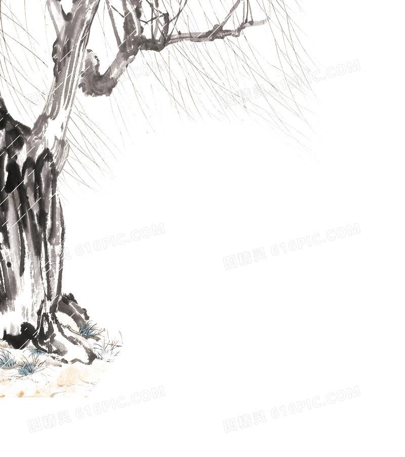 清明节柳树图片免费下载_高清png素材_图精灵