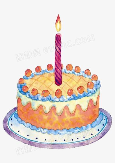 卡通版生日蛋糕_生日蛋糕卡通图片免费下载_PNG素材_编号1m9i40ypv_图精灵