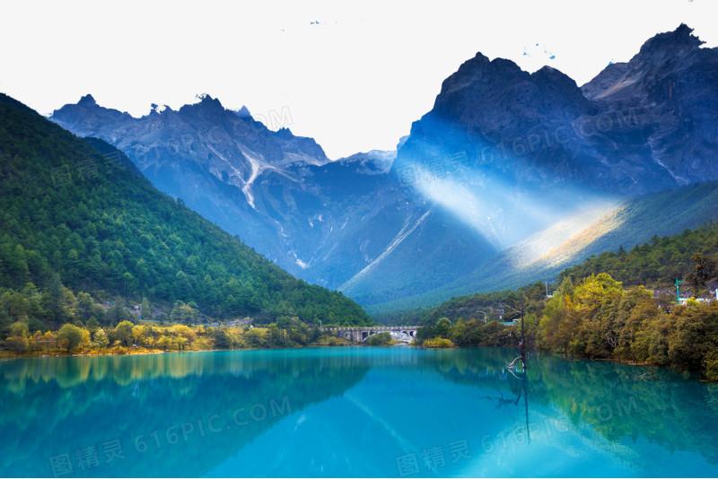 云南香格里拉风景图片免费下载_高清png素材_图精灵