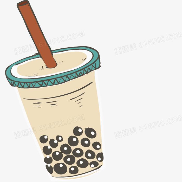 矢量珍珠奶茶图片免费下载_高清png素材_图精灵