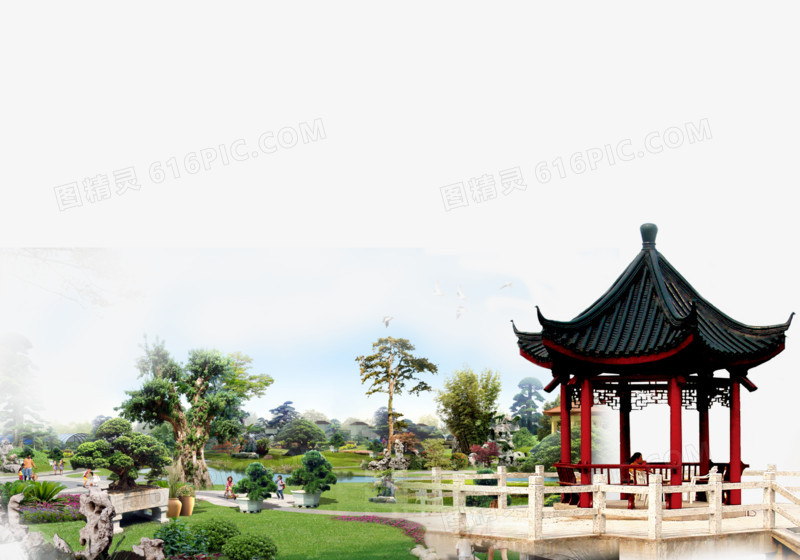 亭子图片免费下载_高清png素材_图精灵