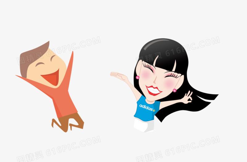 卡通人图片免费下载_高清png素材_图精灵