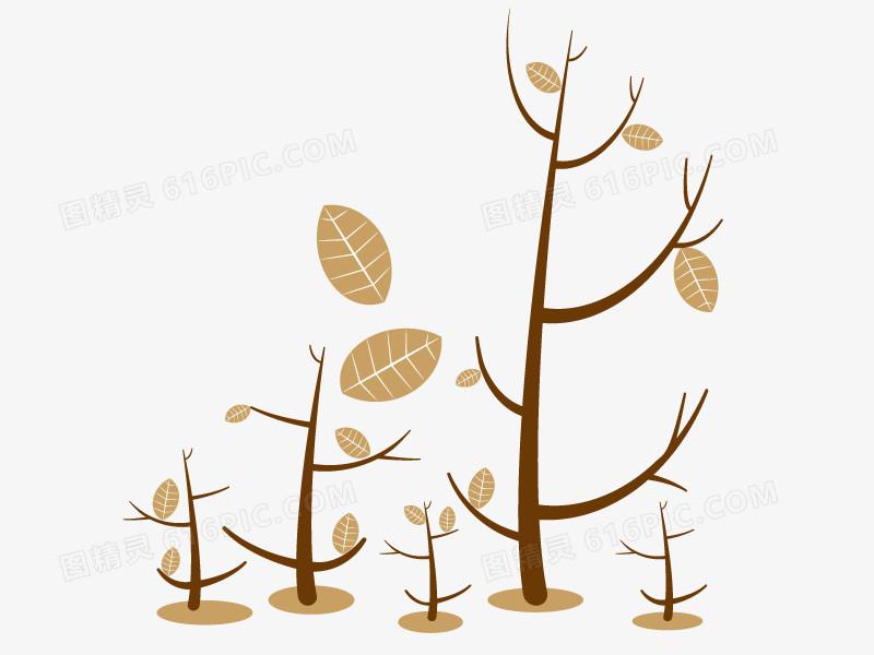 手绘抽象树
