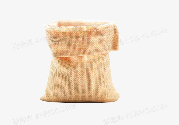 米黄色麻袋米袋图片免费下载_高清png素材_图精灵