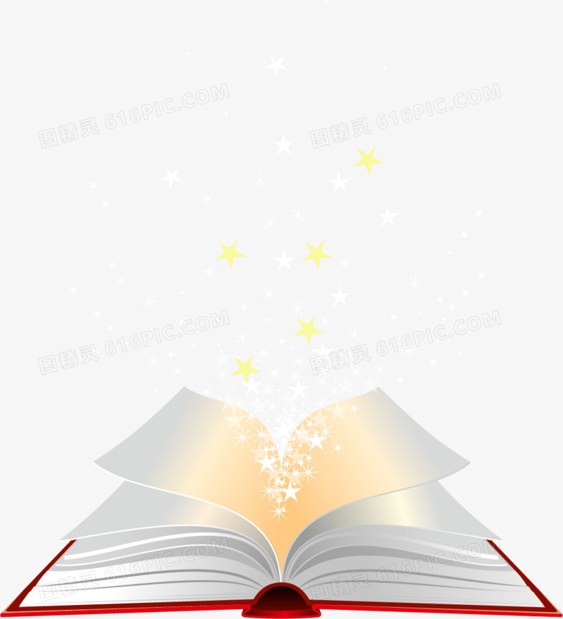 翻开的魔法书图片免费下载_高清png素材_图精灵