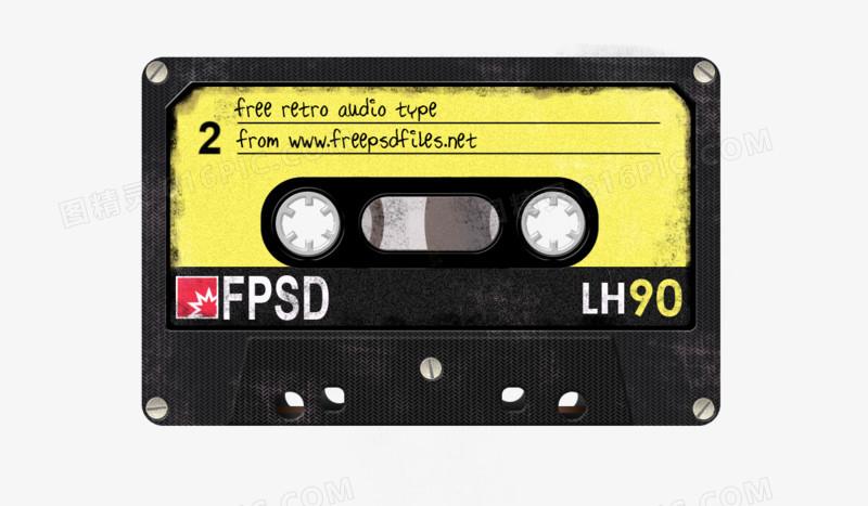 磁带图片免费下载_高清png素材_图精灵