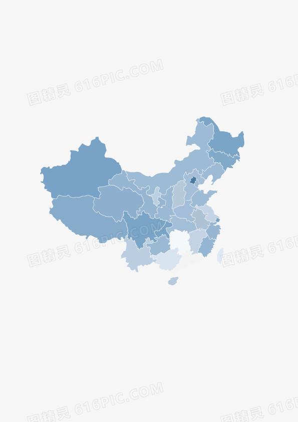 中国地图矢量_有各省市及重庆
