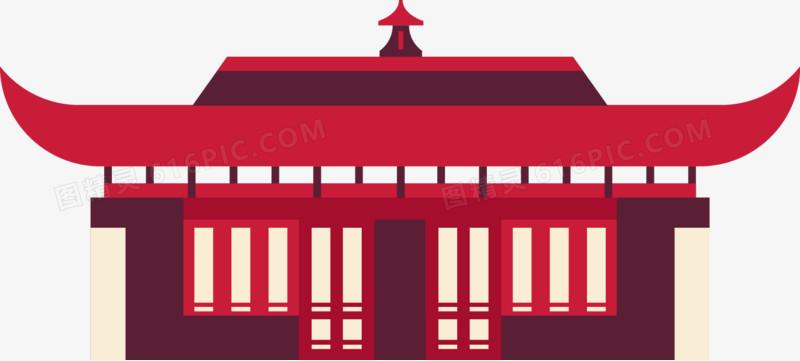 中国风宫殿图片免费下载_高清png素材_图精灵