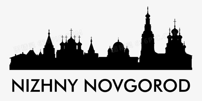 城市剪影图片免费下载_高清png素材_图精灵