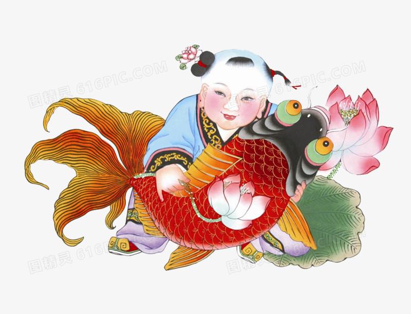 传统年画图片免费下载_高清png素材_图精灵