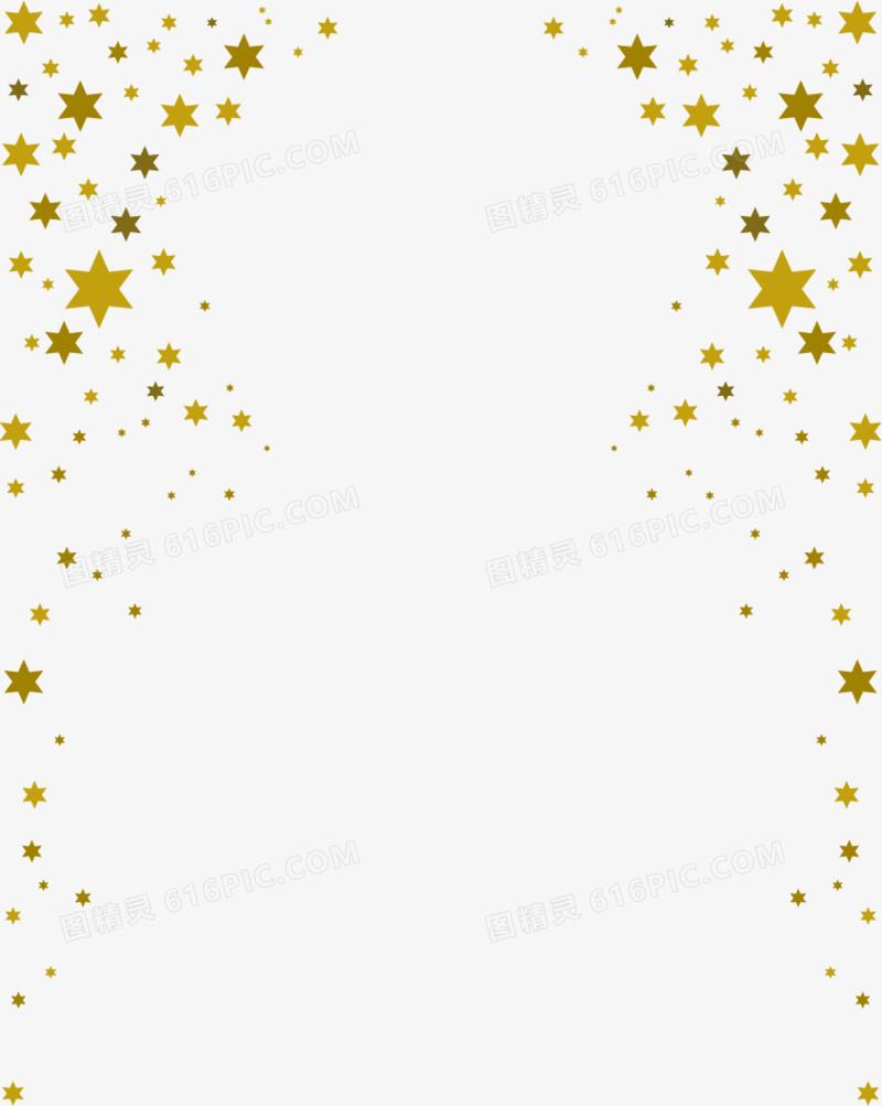 矢量星星边框图片免费下载_高清png素材_图精灵