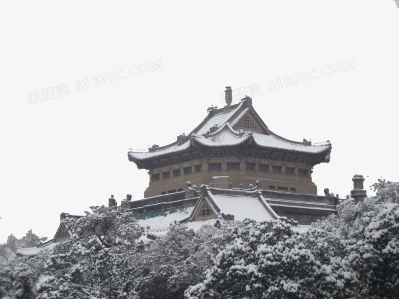 冬季武汉大学图片免费下载_高清png素材_图精灵