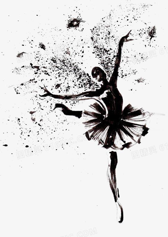 芭蕾舞图片免费下载_高清png素材_图精灵