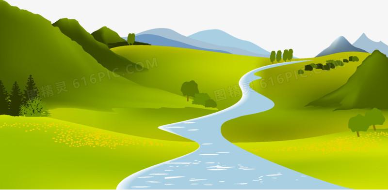 河流图片免费下载_高清png素材_图精灵