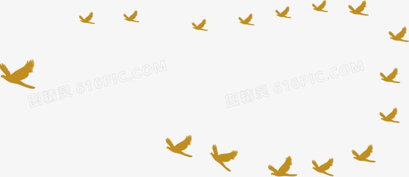 大雁图片免费下载_高清png素材_图精灵