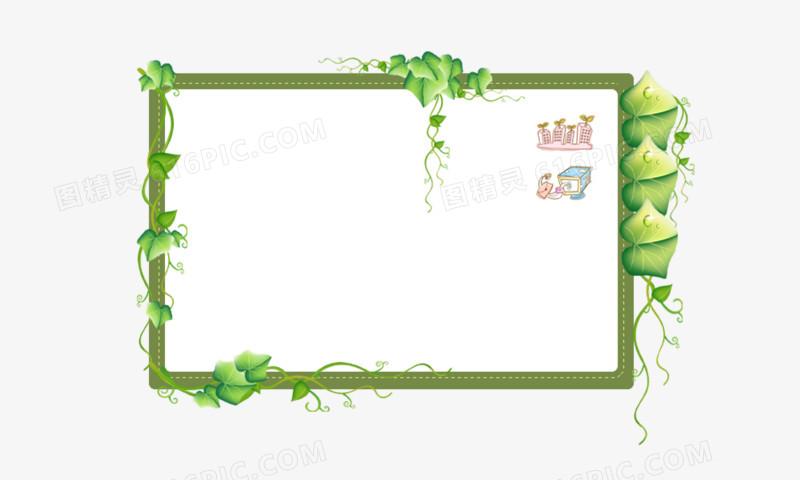 花描绘图片素材白板