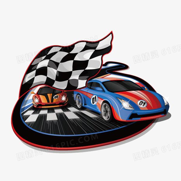 赛车f1 比赛 矢量图