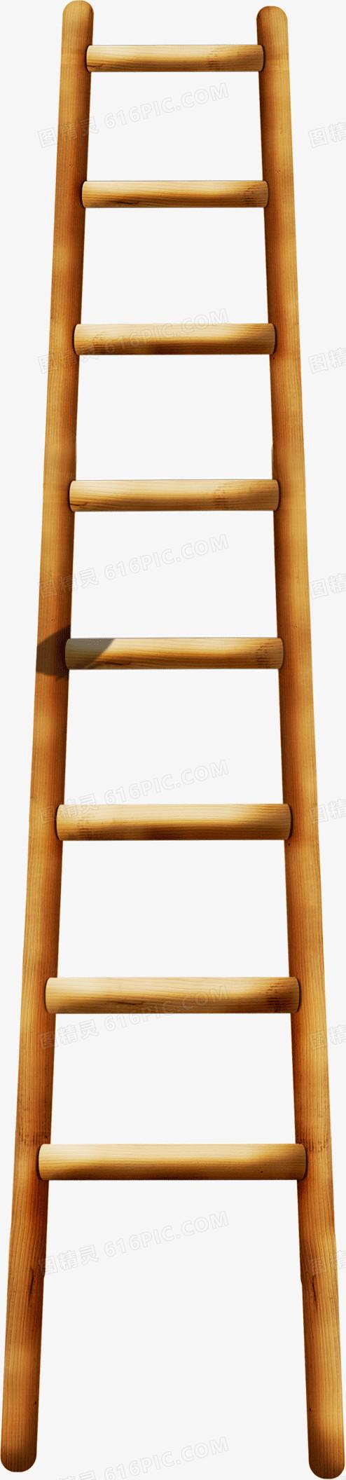 木质梯子图片免费下载_高清png素材_图精灵