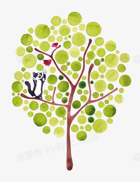 手绘创意树图片免费下载_高清png素材_图精灵