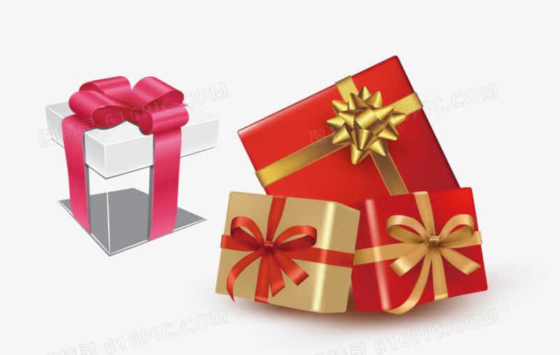 礼物礼盒活动促销png矢量素材图片免费下载_高清png