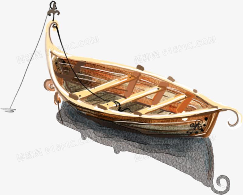 卡通手繪船