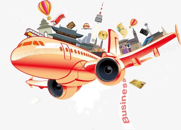 图精灵 免抠元素 装饰图案 > h5素材卡通飞机   图精灵为您提供h5素材