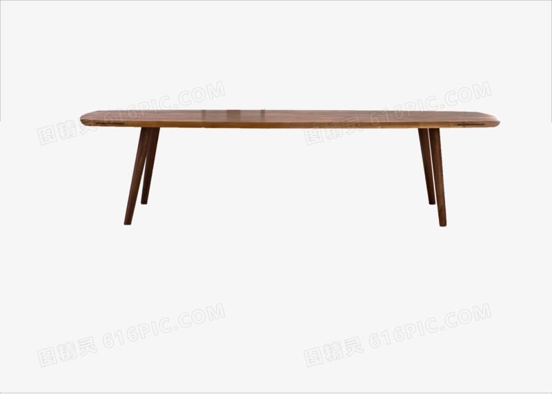 木质极简长桌图片免费下载_高清png素材_图精灵