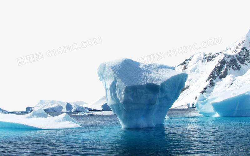 北极冰山图片免费下载_高清png素材_图精灵