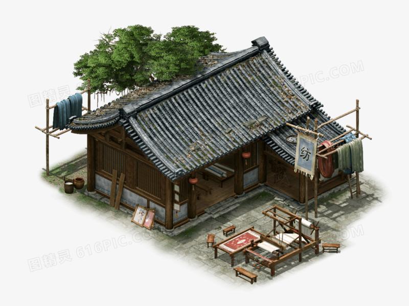 中国风游戏场景建筑