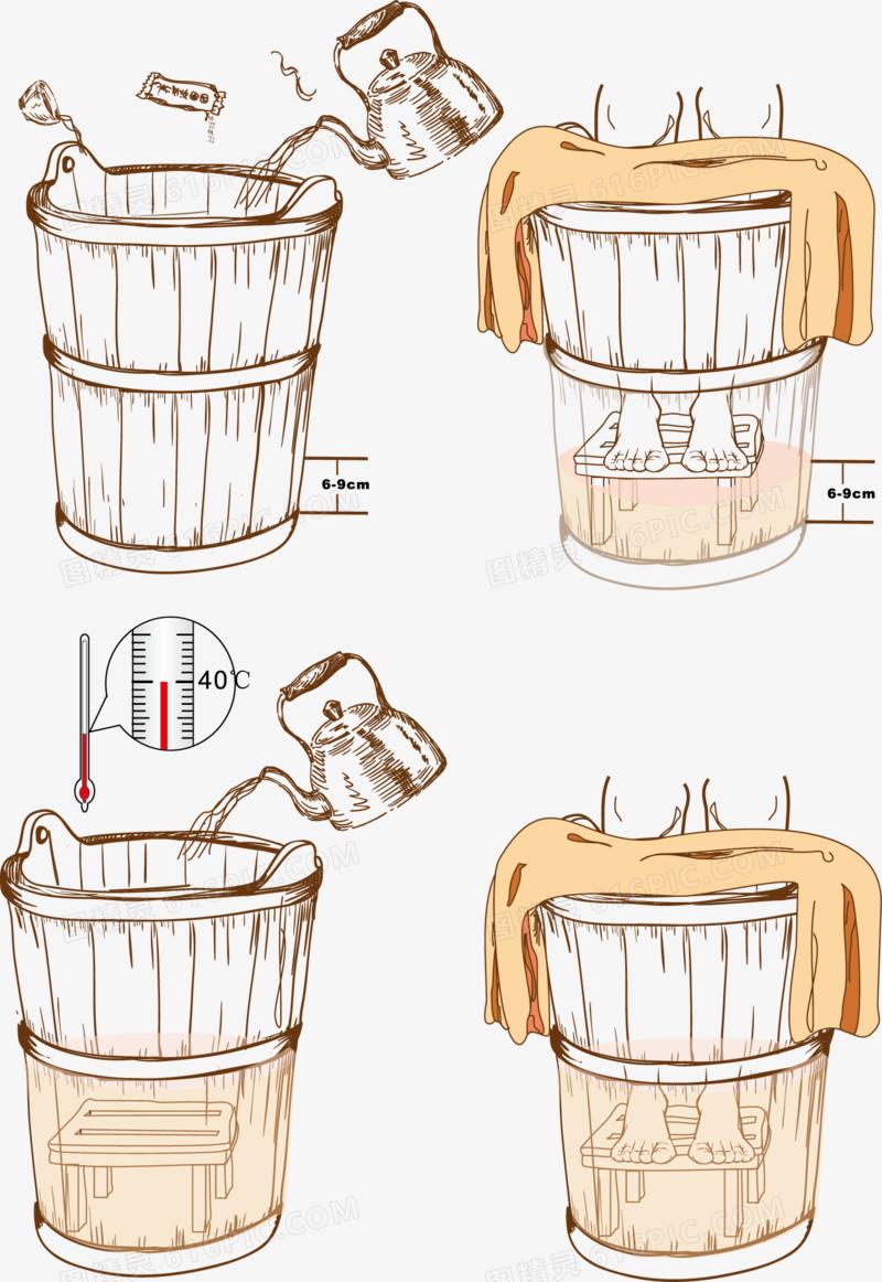 洗脚桶图片免费下载_高清png素材_图精灵