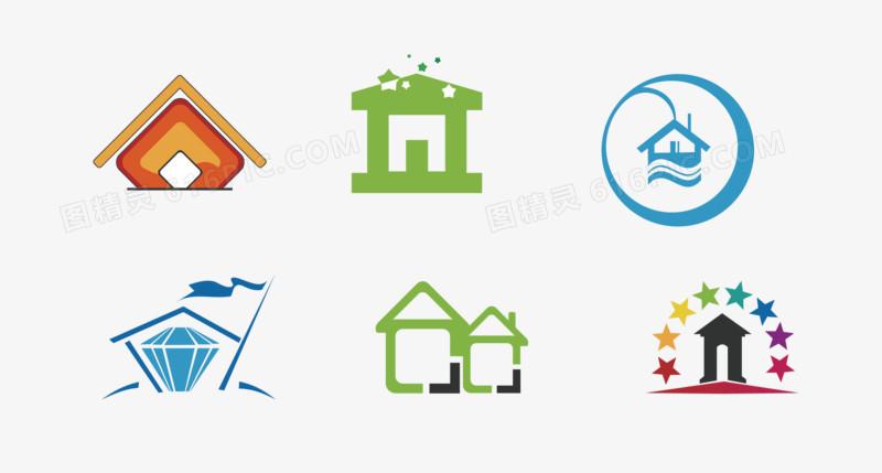房子logo图片免费下载_高清png素材_图精灵