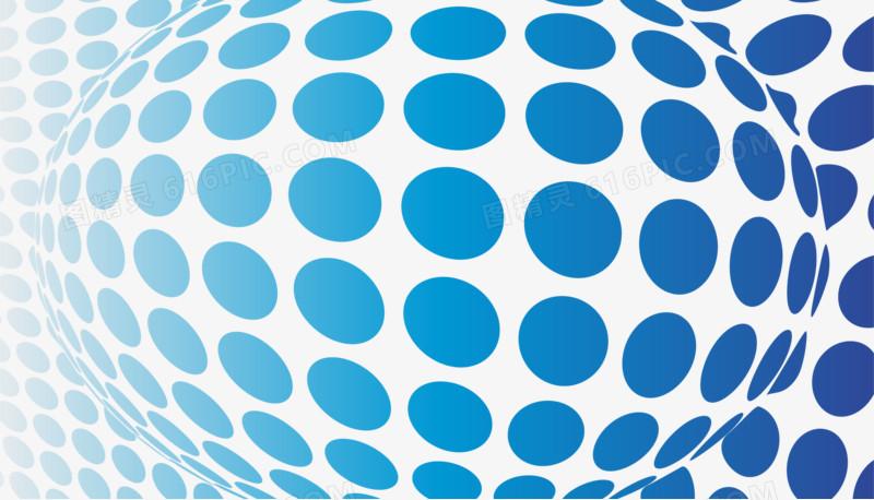 矢量蓝色波点纹理图片免费下载_高清png素材_图精灵