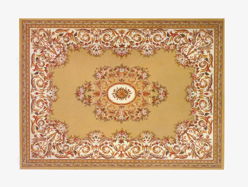 精美欧式地毯图片免费下载_高清png素材_图精灵