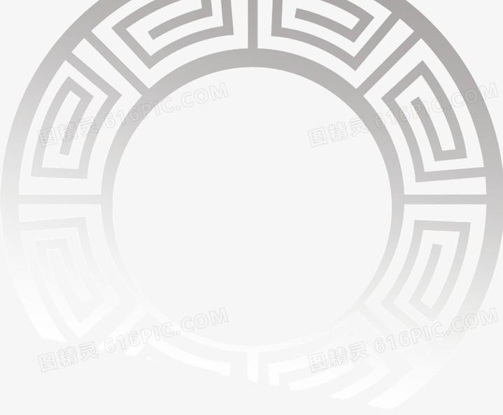 中国风圆形边框图片免费下载_高清png素材_图精灵
