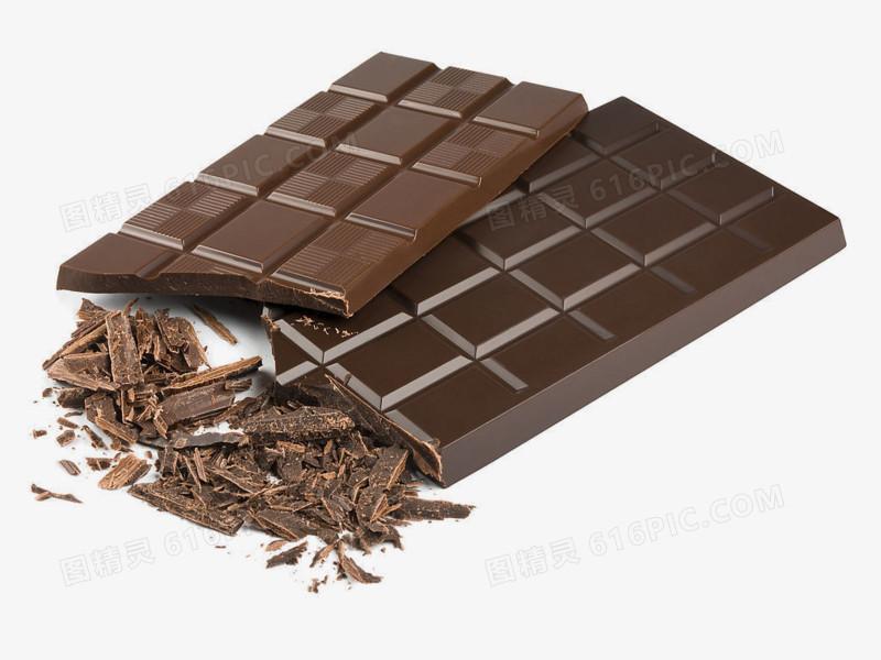 图精灵 免抠元素 装饰图案 > 手绘图片食物矢量图 巧克力板块   图