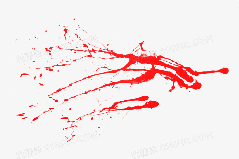 红色的血迹图片免费下载_高清png素材_图精灵