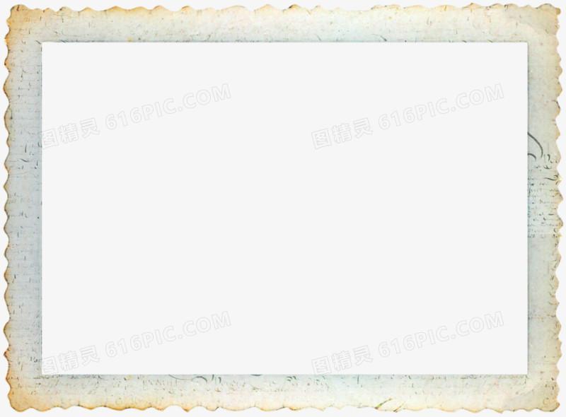 米色长方形相框图片免费下载_高清png素材_图精灵