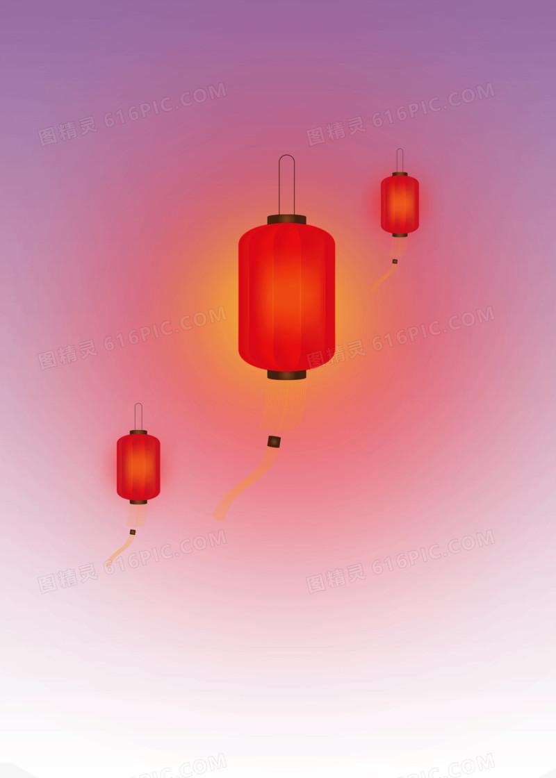 春节灯笼装饰元素