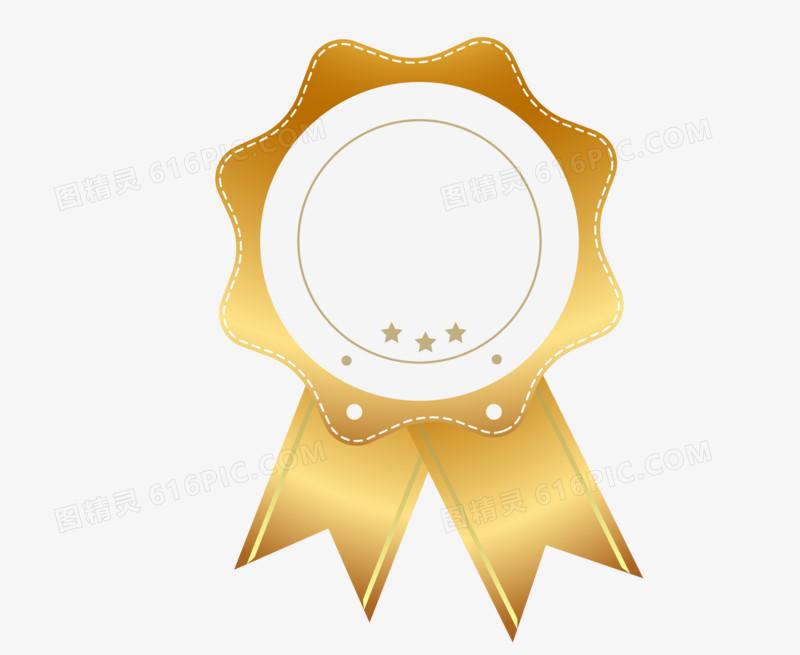 金色质感等级勋章png图片图片免费下载_高清png素材
