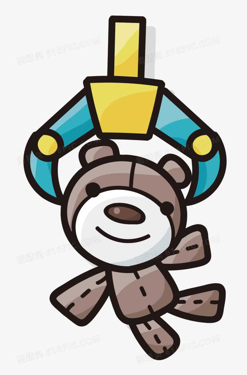 矢量卡通夹娃娃机图片免费下载_高清png素材_图精灵