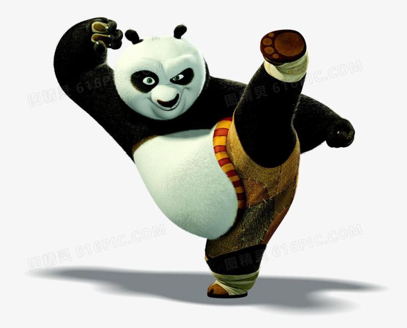 功夫熊猫图片免费下载_高清png素材_图精灵