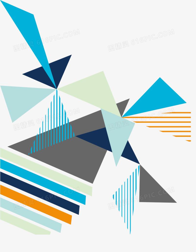 碎片三角形图片免费下载_高清png素材_图精灵