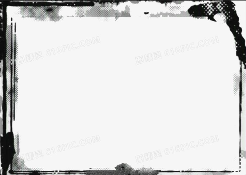 水墨视频边框图片免费下载_高清png素材_图精灵