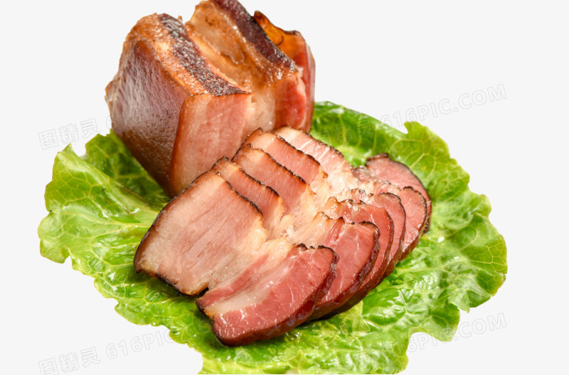 蔬菜和腊肉图片免费下载_高清png素材_图精灵