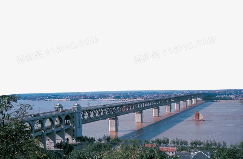 武汉长江大桥图片免费下载_高清png素材_图精灵