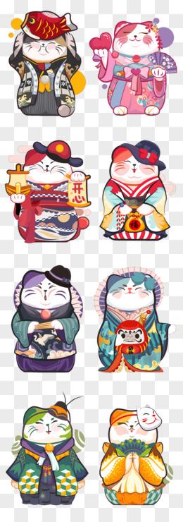 吃棒棒的图片_卡通猫图片素材_免费卡通猫PNG设计图片大全_图精灵